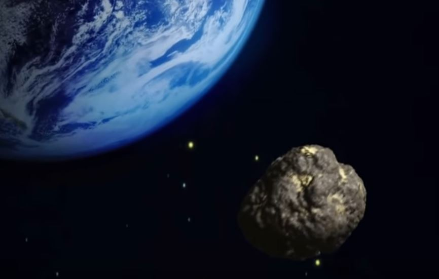 An asteroid is heading towards Earth, according to NASA. (YouTube)