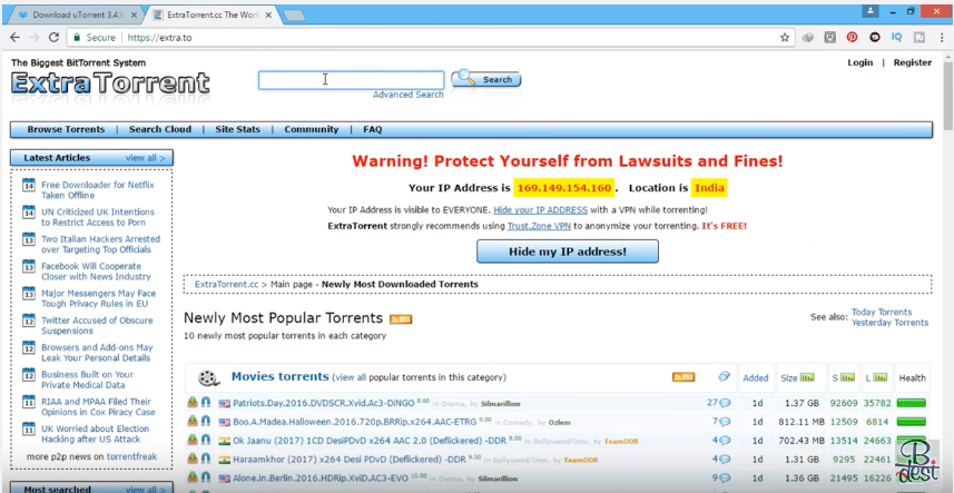 Torrent Crisis: ExtraTorrent Paves Way for The Pirate Bay, Torrent