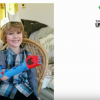 Team Unbilimited gifts a boy with a prosthetic arm. (YouTube)