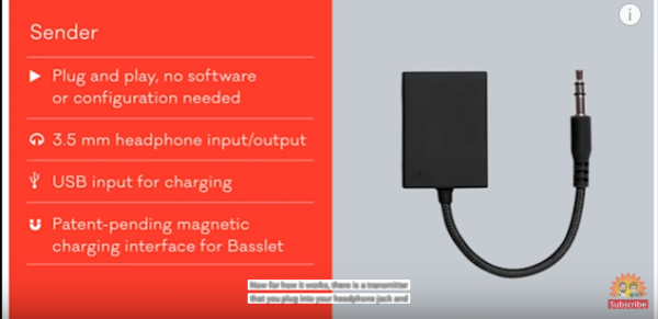 Basslets enables users to carry quality speakers everywhere and enjoy bass in their music. (YouTube)