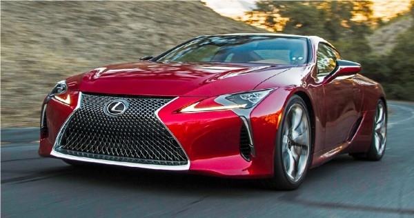 The base model of the 2018 Lexus LC 500 starts at $92,975. (YouTube)