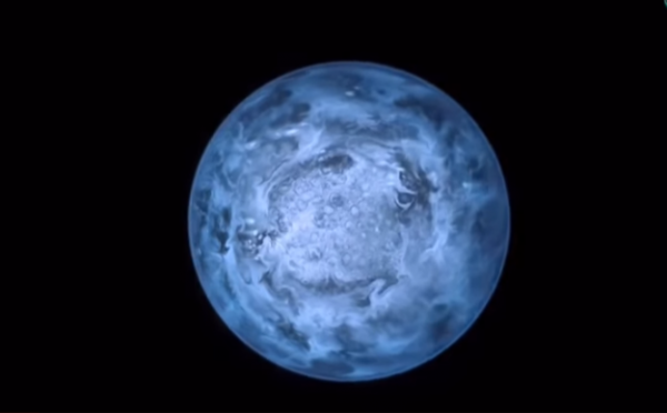 The Wolf 1061c is one of the three planets that orbit the main Wolf 1061 planet. (YouTube)