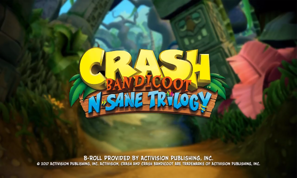 """Crash Bandicoot N Sane Trilogy"" would be released on PS4 on June 30.  (YouTube)"