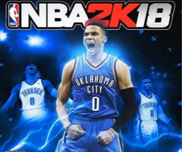 e22a46989932  NBA 2K18  could feature Russell Westbrook