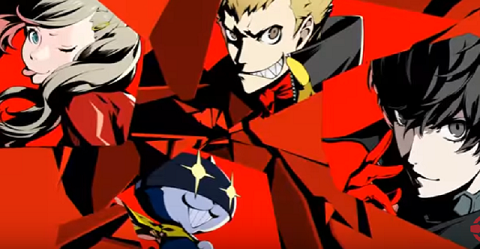 Persona 5 is set to receive a free Christmas costume set on July 11. (YouTube)