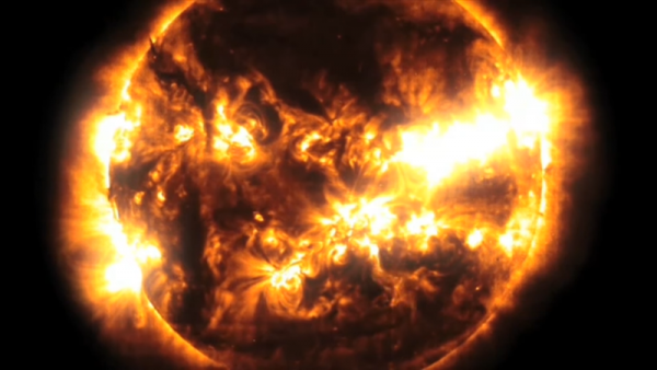 Solar radiation is considered to be more harmful than the galactic cosmic rays. (YouTube)