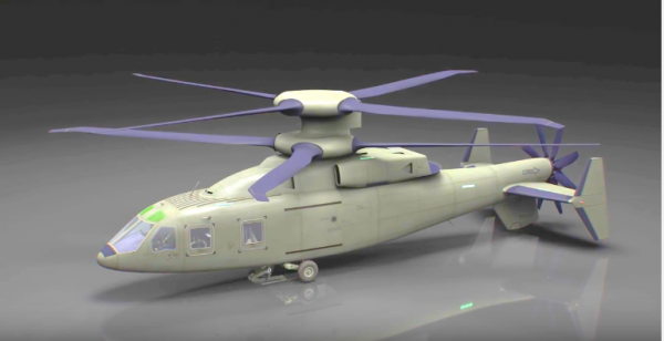 Lockheed Martin's future 'warcopter' could potentially replace the Apache and Blackhawk helicopters. (YouTube)