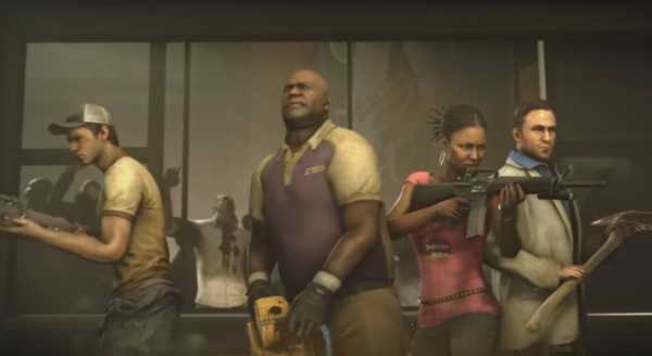 'Left for Dead 3' will similarly feature four characters including a female protagonist named Catherine. (YouTube)