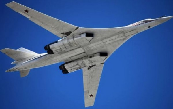 Tupolev Tu-160M supersonic strategic bomber.
