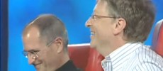 Both Bill Gates and Steve Jobs share their joys and other experiences during an interview. (YouTube)
