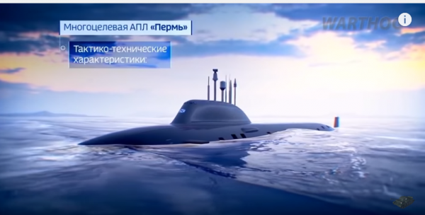 Russia's will equip its submarines with noise-dumping plates to make them hard to detect. (YouTube)