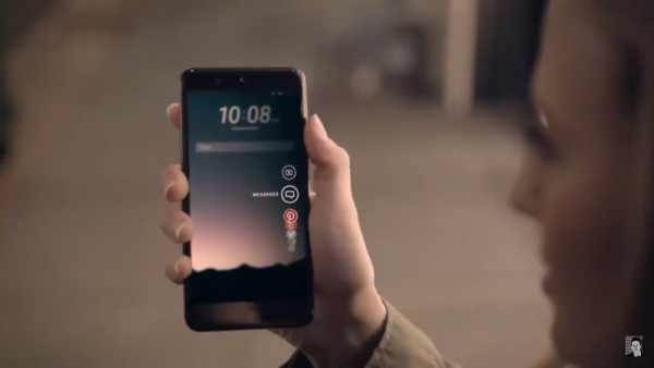 """HTC U 11 is said to have a squeezable frame called """"Edge Sense."""" (YouTube)"""