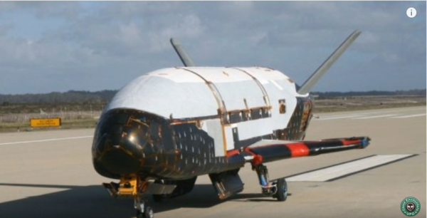 US Air Force X-37B has successfully landed back on Earth after two years in space. (YouTube)