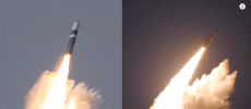 North Korea test-fired its new intercontinental ballistic missile (ICBM) Hwasong-12. (YouTube)