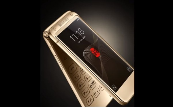 The potential look of Samsung's flip phone. (YouTube)