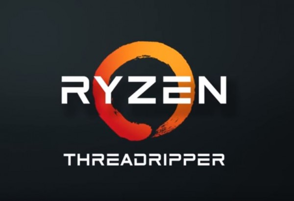 The new design logo of the upcoming AMD Ryzen Threadripper.