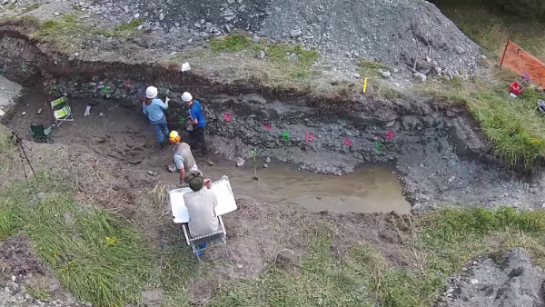 The water in the Alpine Fault reached 100 degrees Celsius with a depth of 630 meters. (YouTube)