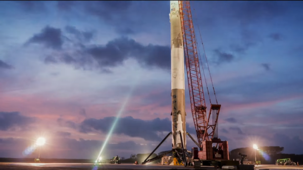 SpaceX new heartwarming mission is to send Falcon 9 rocket into the space carrying the cremated remains of beloved family members. (YouTube)