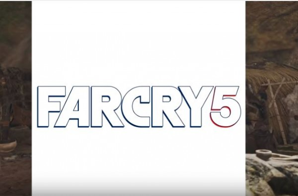 """Far Cry 5"" logo as displayed via social media account of the developer."