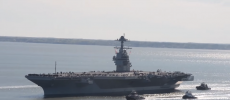 General Atomics won the $195 million contract to install EMALS for the USS Enterprise CVN-80. (YouTube)