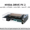 Tesla announced last October that all its vehicles will be powered by the Nvidia Drive PX2 AI computing. (YouTube)