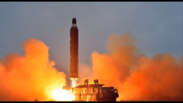 The leading U.S. intelligence official warned on Tuesday that North Korea could develop a nuclear weapon to strike the United States mainland. (YouTube)