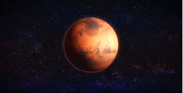 A Russian scientists patented potential methods to make an atmosphere on Mars. (YouTube)