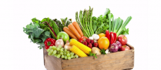 A new study suggests that fruits and vegetables can reduce blockages in the legs. (YouTube)