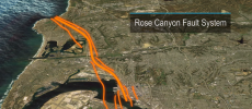 A new study released this week revealed that the Rose Canyon fault in San Diego could produce frequent and stronger earthquakes than previously believed.  (YouTube)