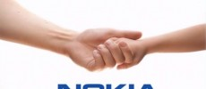 An old Nokia phone intro logo.