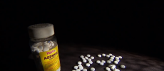 Researchers from the University of Florida Health found that aspirin may only provide little or no benefit at all for some patients with plaque build-up in arteries. (YouTube)