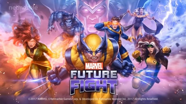 "The X-Men are added in ""Marvel Future Fight's"" roster consisting of Wolverine, Cyclops, Beast, Rogue, Storm, Phoenix and Magneto. (YouTube)"