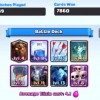 A Lavaloon deck is being displayed along with its win rate.