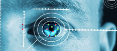 Iris ID's iris scanning tech could soon be seen on military applications. (YouTube)