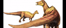 Nipponosaurus is an herbivorous dinosaur during the Late Cretaceous Period. (YouTube)