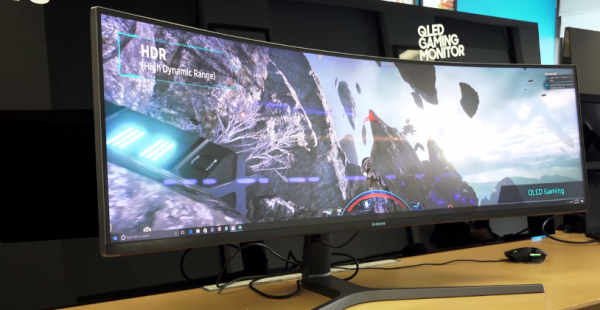 Samsung Unveils its 49'inch Super-ultra Wide Monitor for $1499