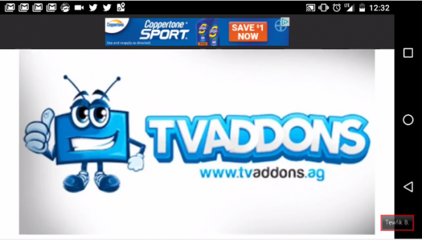 TVAddons disappears out of the blue following Dish Network's lawsuit. (YouTube)