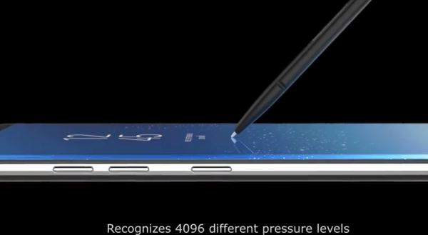 Samsung Galaxy note 8 introduction (You Tube)