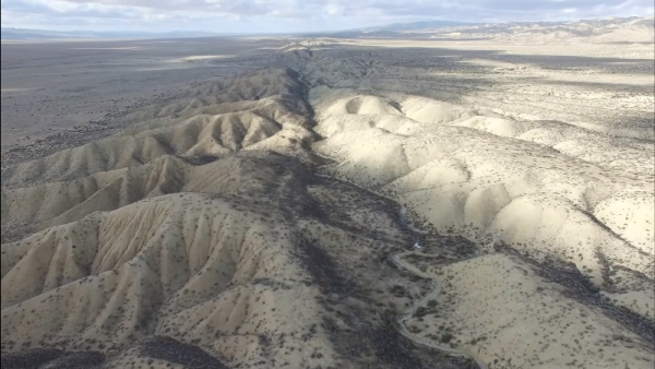 San Andreas Fault in California (YouTube)