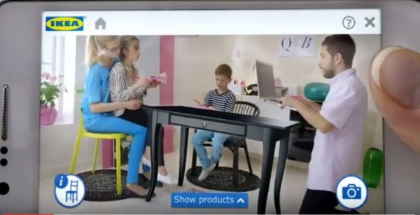 The potential use of augmented reality technology for Ikea's business.