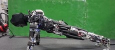Kengoro the humanoid robot can do pushups and sweat like a human.